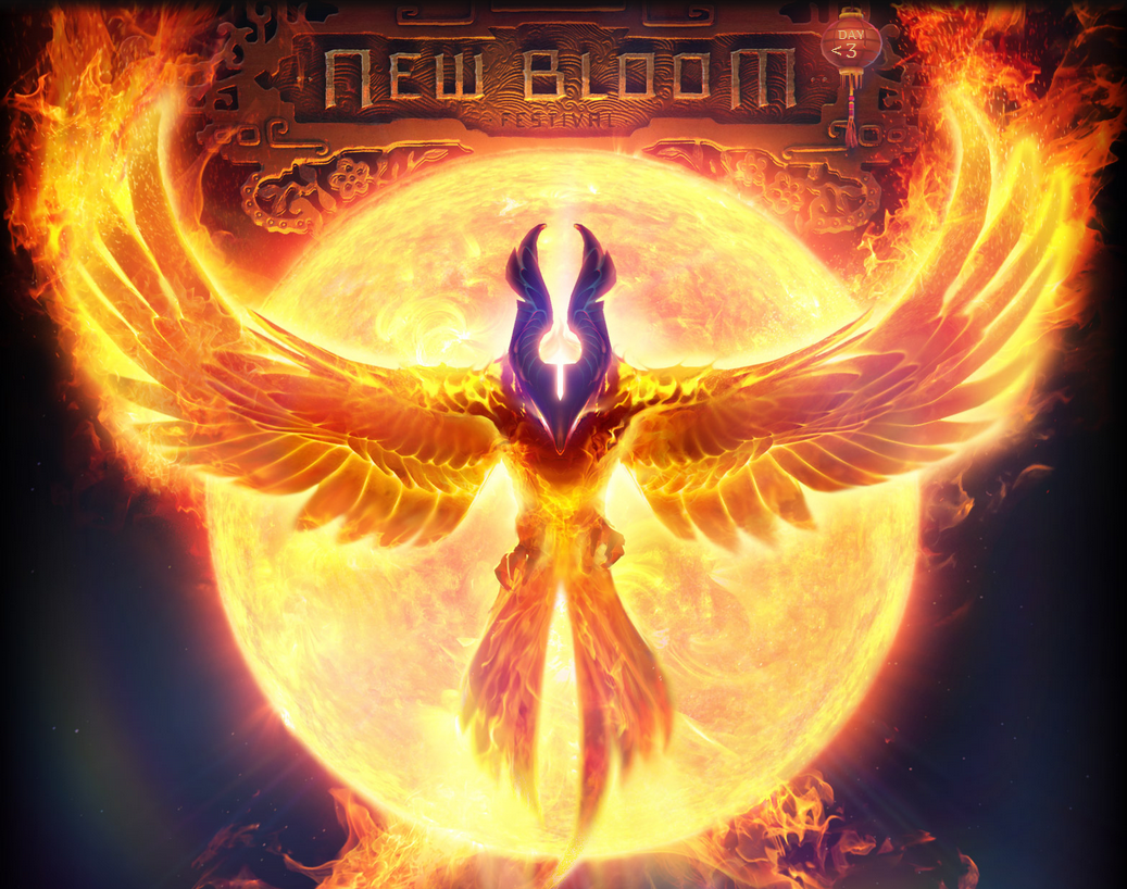 Phoenix Rising From Ashes